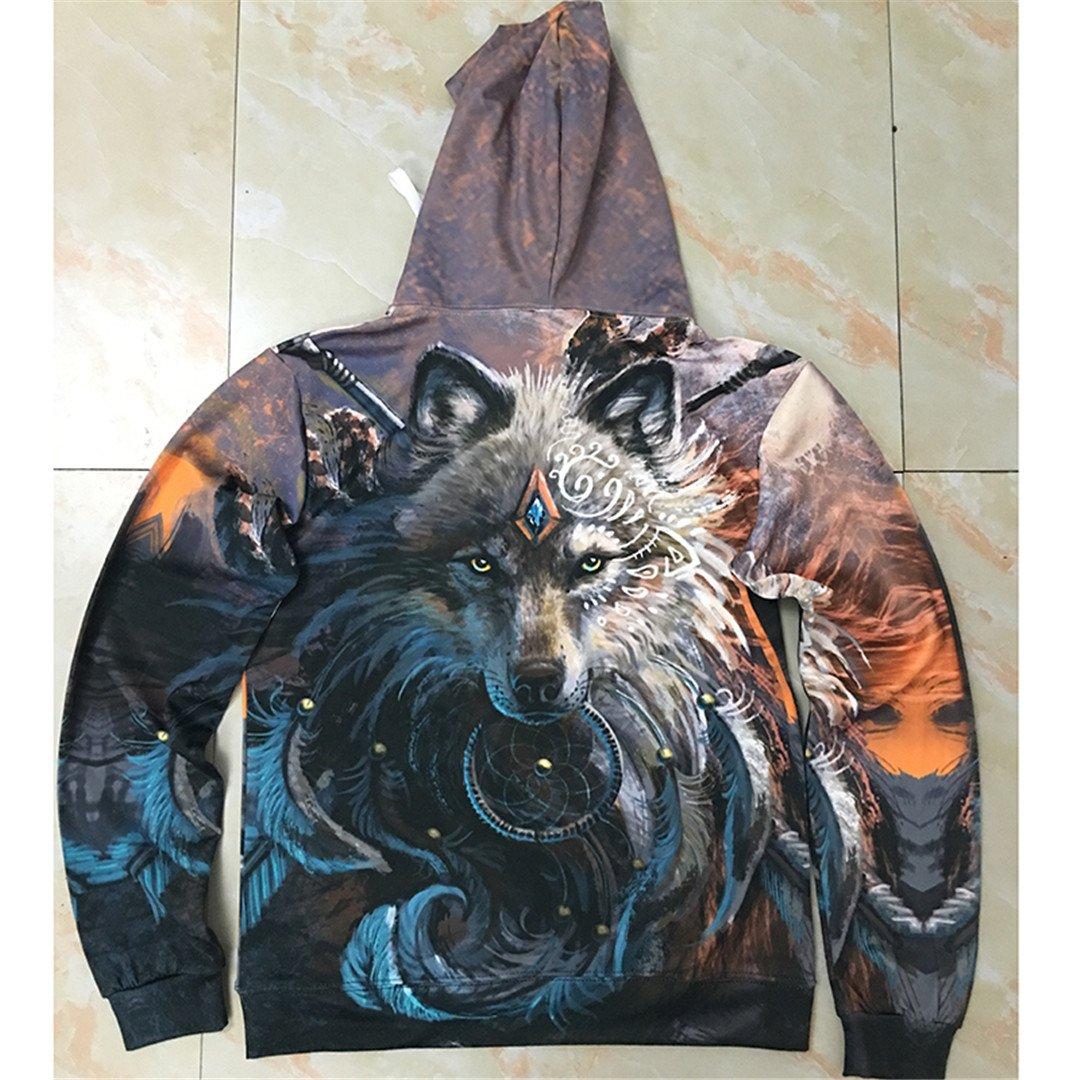 Unisex Hooded Sweatshits Animal Hoodie