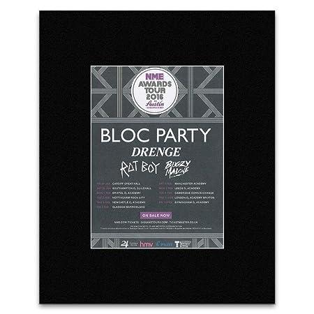 e7948b0d320e5 NME Awards Tour 2016 - Bloc Party Drenge Fat Boy Mini Poster - 40.5x30.5cm   Amazon.co.uk  Kitchen   Home