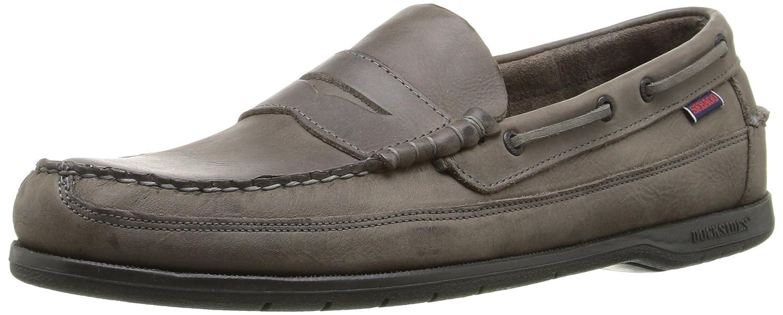 Sebago SLOOP Herren Slipper  7.5 D(M) US Dark Grey Tumbled Leather