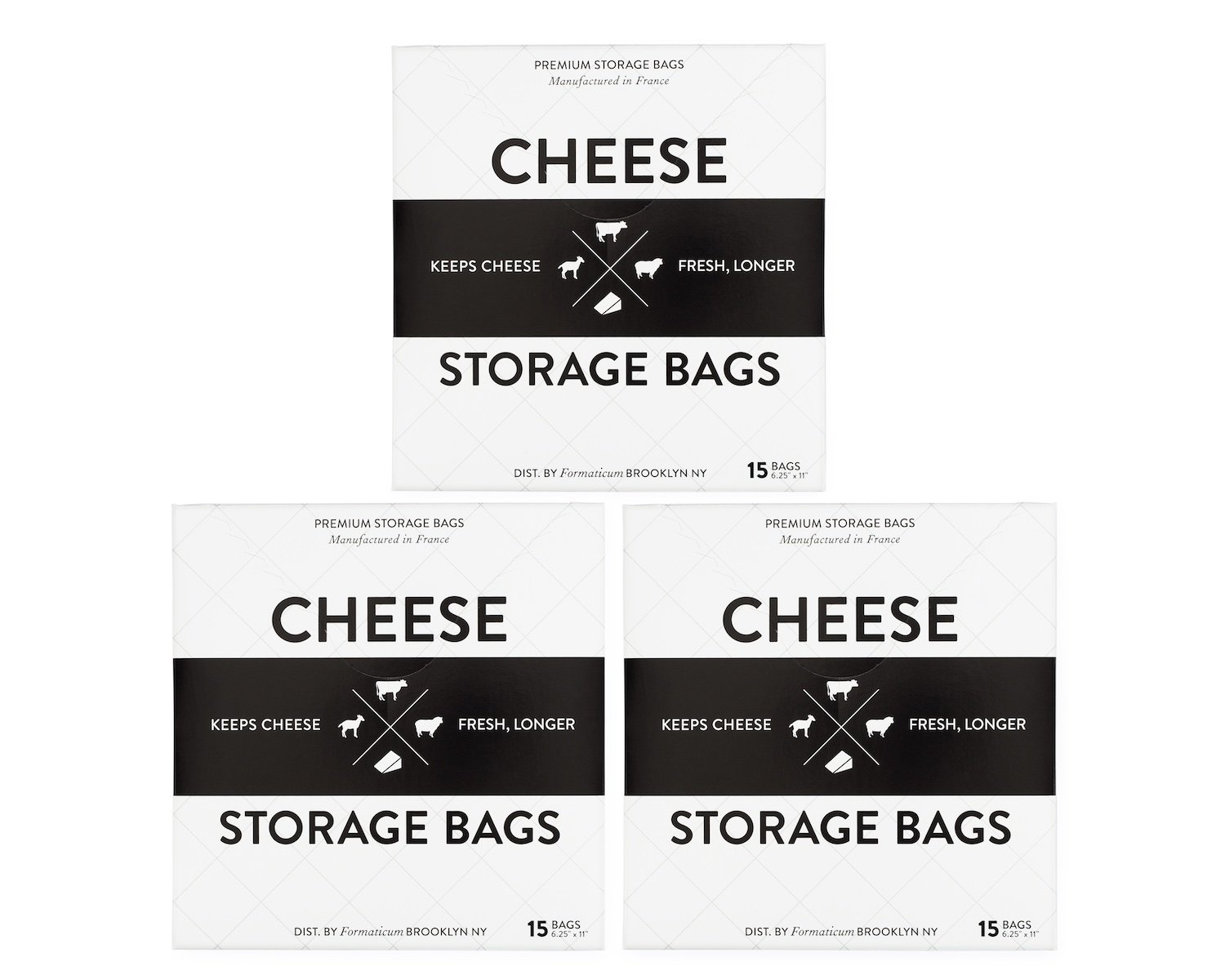 Formaticum Cheese Storage Bags 45 Count