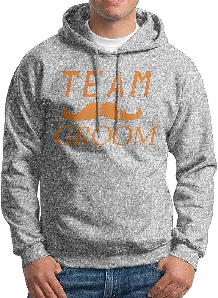 WHR22 Boys Team Groom Funny Groomsmen Fashion Sweatshirts Black