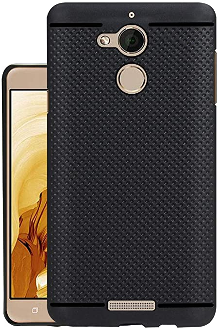 save off 296be 43a90 Jkobi® 360* Protection Dotted Designed Soft Rubberised Back Case Cover for  Coolpad Note 5 -Black