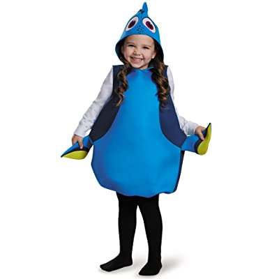 Disguise Disney's Finding Dory Girls Dory Classic Costume One Size(0-6): Clothing