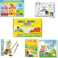 Einstein Box for 3 Year Old Baby Boys and Girls, Learning and Educational Gift Pack of Toys and Books, Multi
