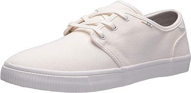 TOMS Mens Carlo Sneaker White Canvas