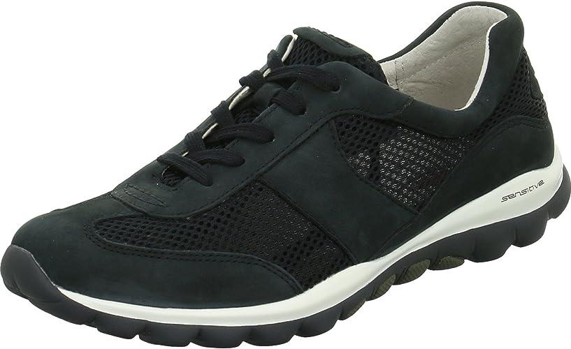 Gabor Damen Rollingsoft Sneakers, Blue (Night Blue 46)