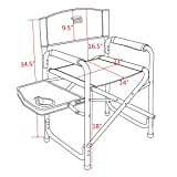 Timber Ridge Director's Chair Folding Aluminum
