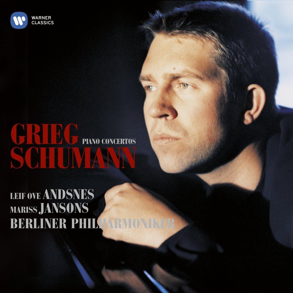 Edvard Grieg, Robert Schumann, Mariss Jansons, Berlin Philharmonic  Orchestra, Leif Ove Andsnes - Grieg, Schumann: Piano Concertos - Amazon.com  Music