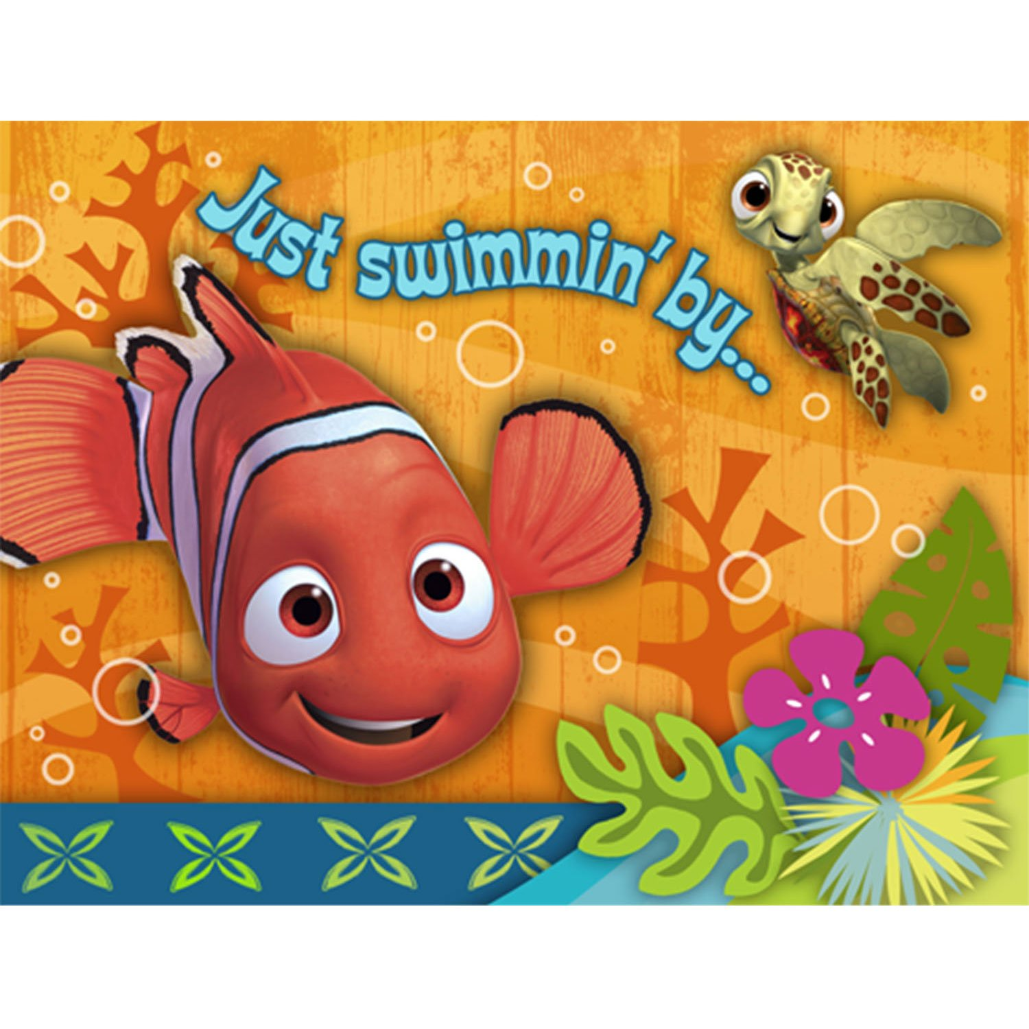 Outstanding Nemo Birthday Invitations Image Collection Resume