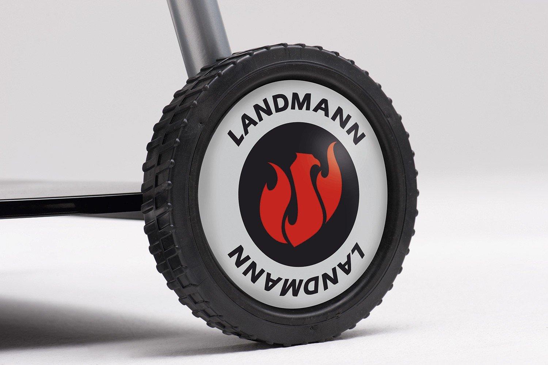 Landmann Holzkohlegrill Black Pearl Comfort : Landmann holzkohle kugelgrill black pearl comfort schwarz 67 x