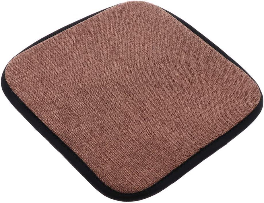 Runde 25 cm PETSOLA Sitzkissen Sitzauflage Sitzpolster Polster Stuhlkissen zur Auswahl