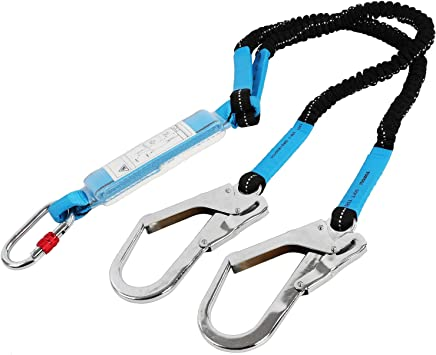 Outdoor Tree Climbing Safety Straps Belt Security Rope Lanyard Leg Buckle UK