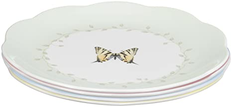 Lenox Butterfly Meadow Dessert Plates Set of 4  sc 1 st  Amazon.com & Amazon.com | Lenox Butterfly Meadow Dessert Plates Set of 4: Dining ...