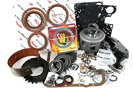 4L60E High Performance Master Rebuild Kit 1997-2003 with Stage-1 Friction  Plates Kolene