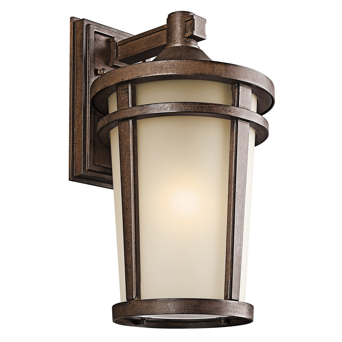 Kichler 49073BST One Light Outdoor Wall Mount