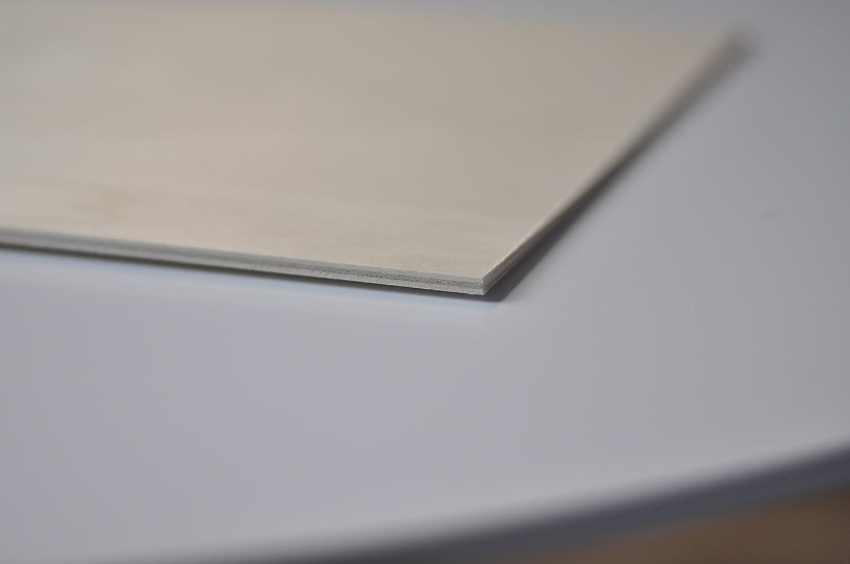 Corte por Laser Modelado Madera Maciza Abedul para Bricolaje Ideal para Pirograbado Calado CNC Router Creative Deco 10 x Tablero Contrachapado Manualidades 600 x 400 x 3 mm