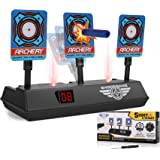 Electronic Shooting Target for Nerf Guns, Auto Reset Digital Scoring Targets for Shooting for Kids, Ideal Birthday Toys…
