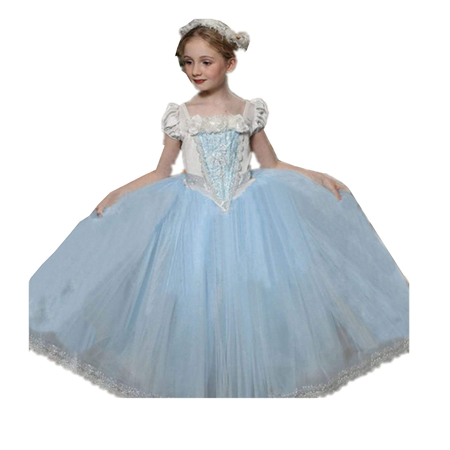 Baiduduozi Flower Princess Girls Cape Fancy Dress Xmas Halloween Cosplay Costume Party Outfit: Amazon.co.uk: Clothing