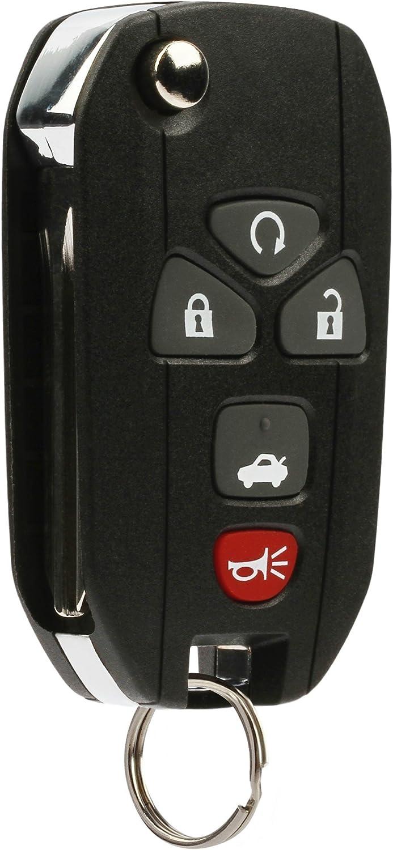 Car Flip Key Fob Keyless Entry Remote fits Chevy Pontiac 22733524, KOBGT04A, 3521A-T04A Saturn