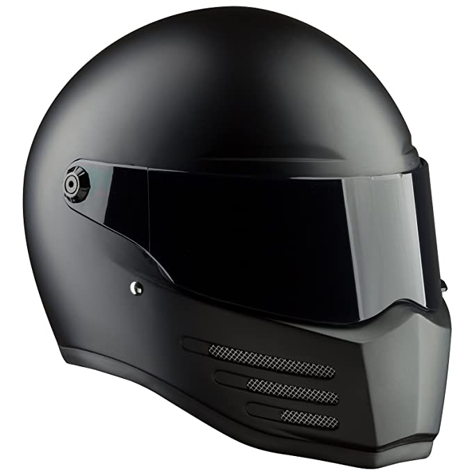 Bandit - Fighter - Casco para Streetfighter, Mad MAX - de Fibra de Vidrio: Amazon.es: Deportes y aire libre