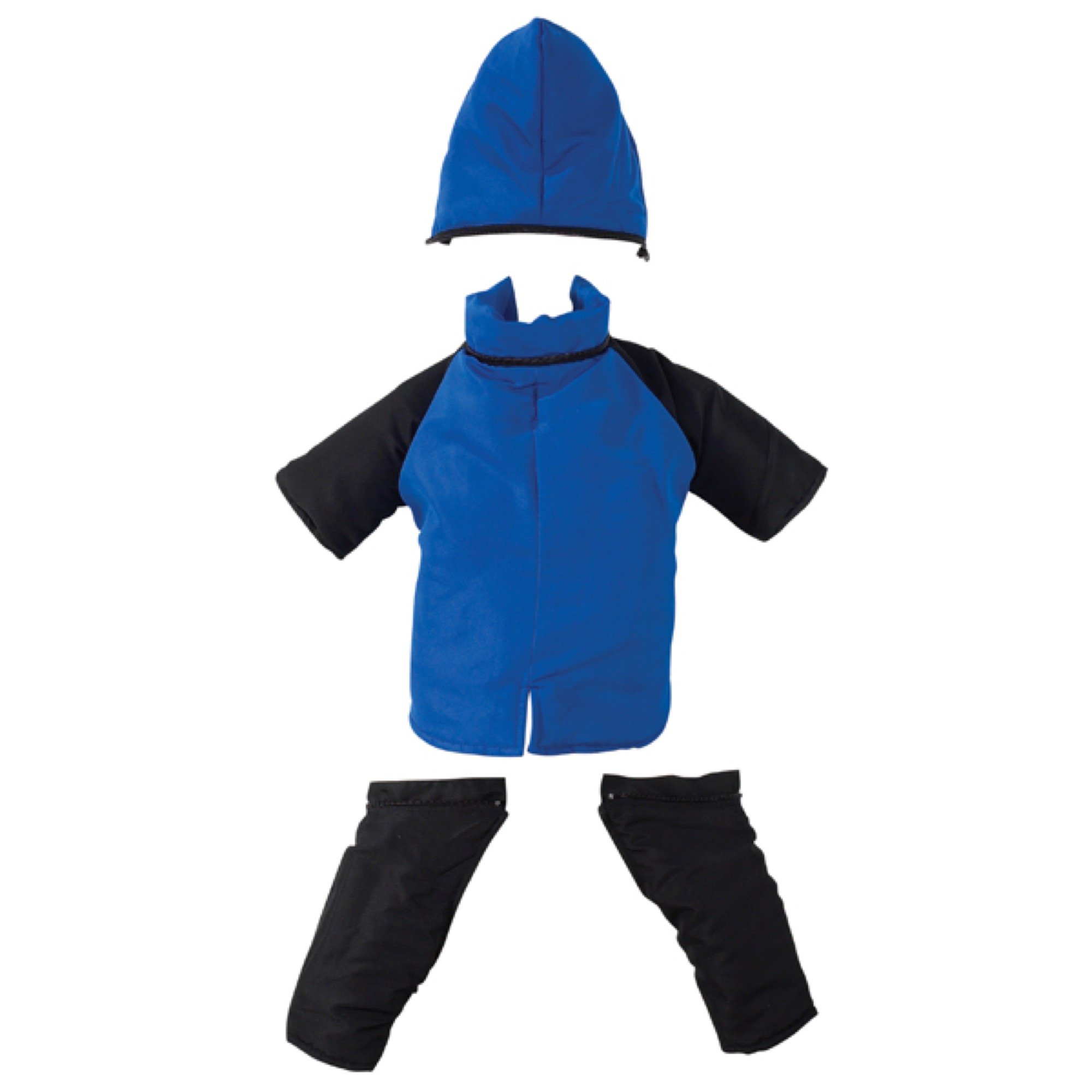 Casual Canine Snowsuit for Dogs, 24'' XL, Royal Blue