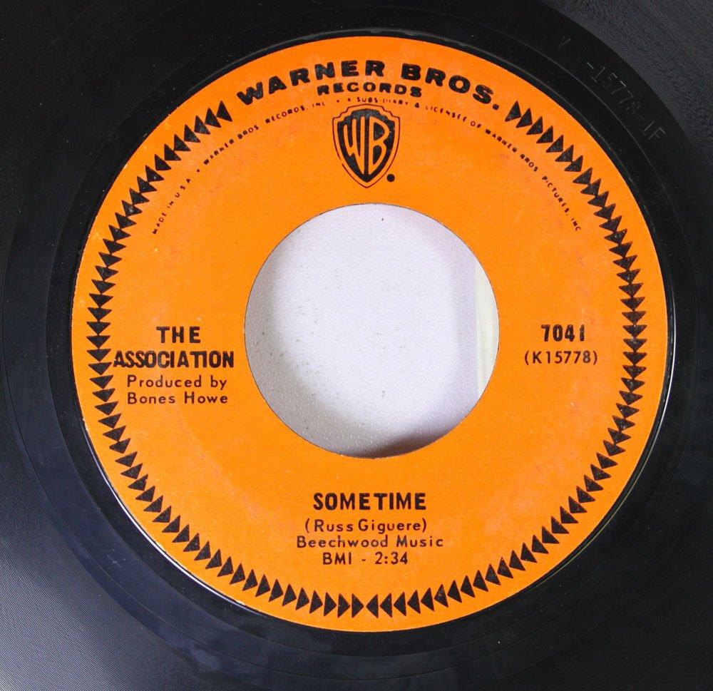 THE ASSOCIATION - The Association 45 RPM Windy / Sometime