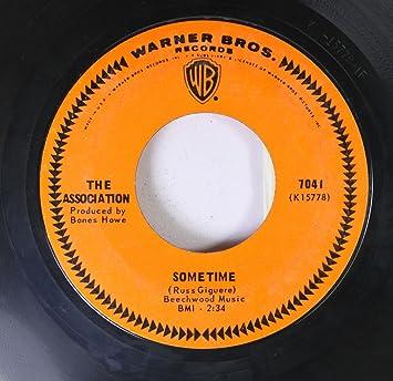 THE ASSOCIATION - The Association 45 RPM Windy / Sometime - Amazon