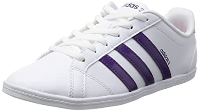 adidas Coneo Qt Neo Ladies Trainers White/Purple, UK Size 7 ...