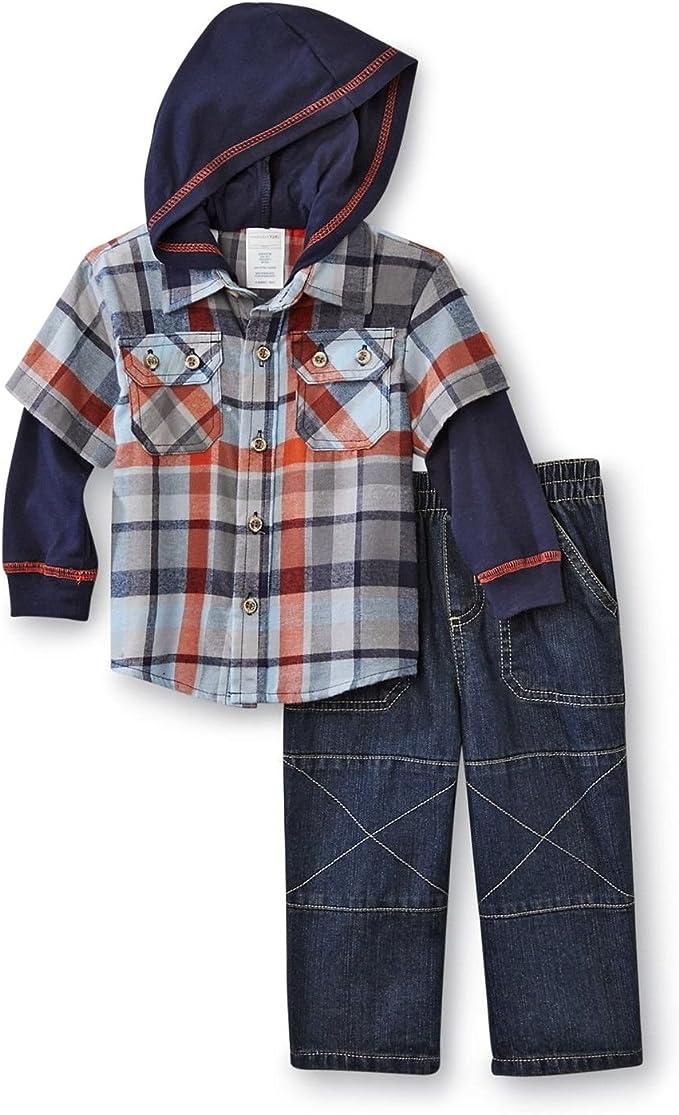 Wonder Kids Niños Camiseta Camisa con capucha + ...