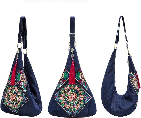 Quallty Hippie STREET Stile Vintage Canvas Shoulder Bag