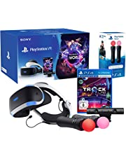 """PlayStation VR2 (CUH-ZVR2) """"Starter Music Pack"""" + VR Worlds + Track-Lab + Camera V2 + Paire Twin Move Controllers"""