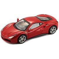Bburago Maisto France 36904R Ferrari 488 GTB  Signature Séries  - Echelle 1/43 - Rouge