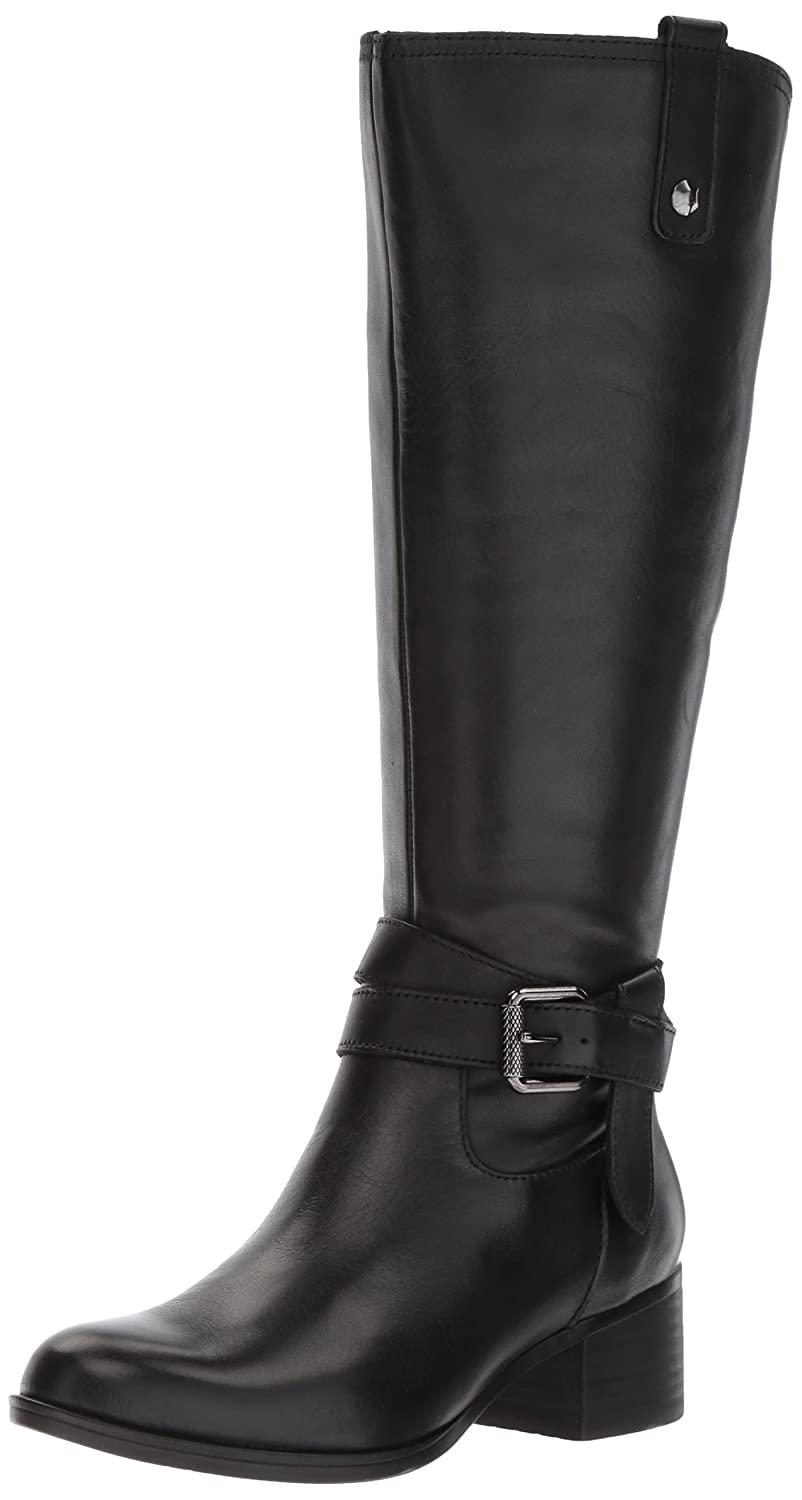 Black Naturalizer Womens Dev WC Knee High Boots