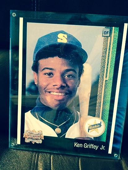 Amazoncom 1989 Upper Deck Ken Griffey Jr Rookie Rc Card Ud 1