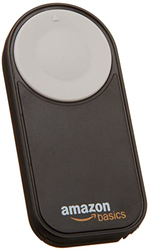 AmazonBasics Wireless Remote Control for Canon Cameras EOS 650D / 600D / 550D/ 500D / 400D / 350D / 5D Mark II / 7D
