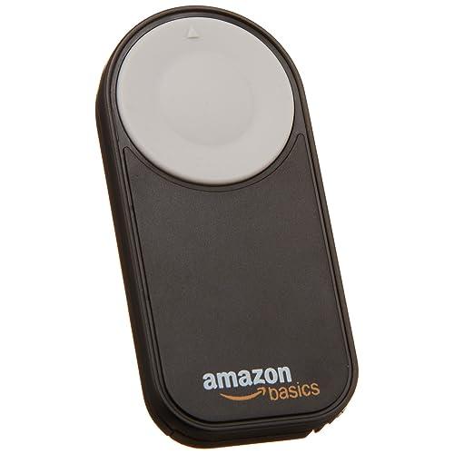AmazonBasics - Telecomando wireless per Canon EOS 650D / 600D / 550D/ 500D / 400D / 350D / 5D Mark II / 7D