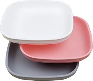 product image for Re-Play 3pk Deep Walled Plates (Modern Pink)