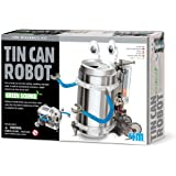 Robot con Lattina Riciclata - Tin Can Robot Fun Mechanics Kit