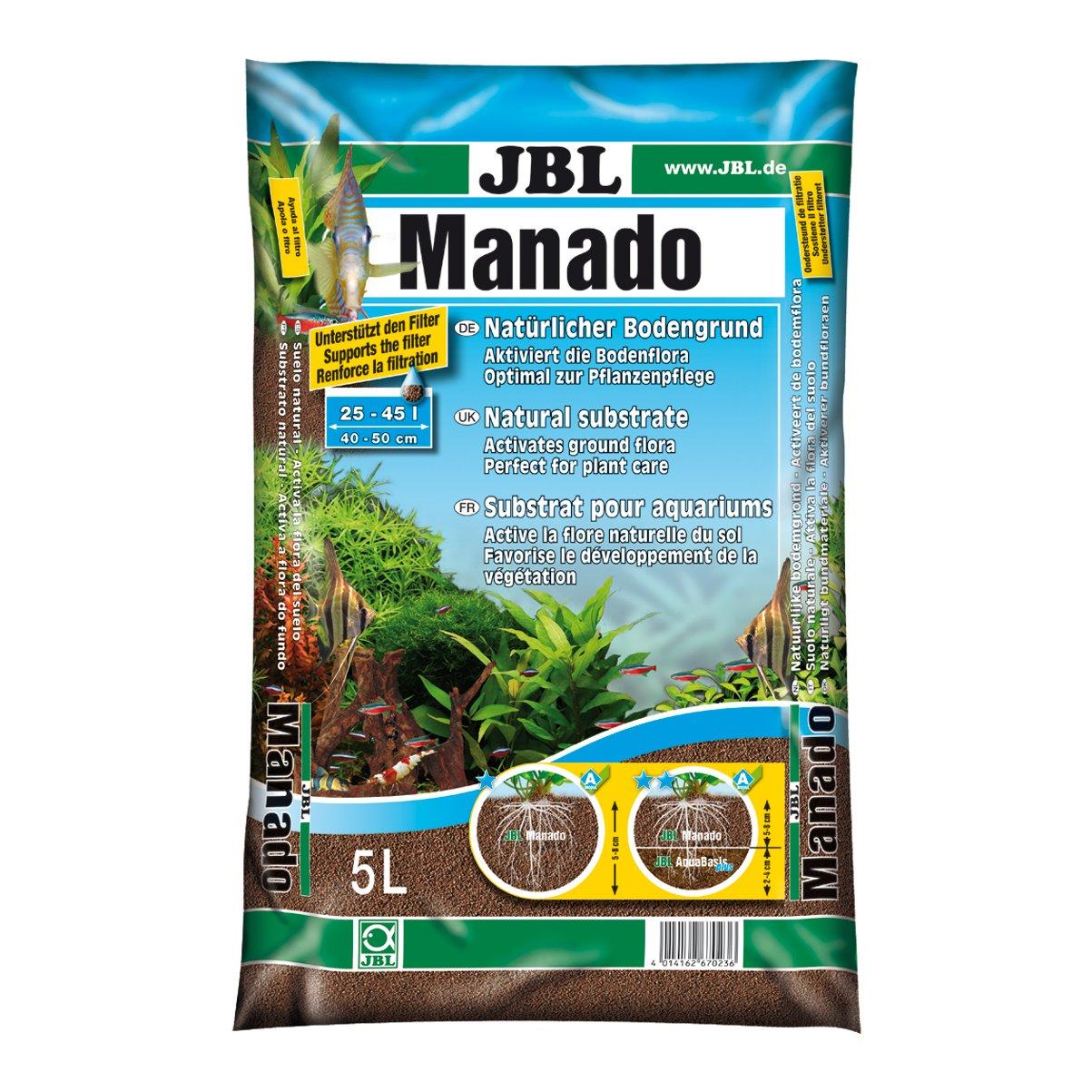 JBL Manado 5l - Substrat de sol naturel pour aquariums d'eau douce product image