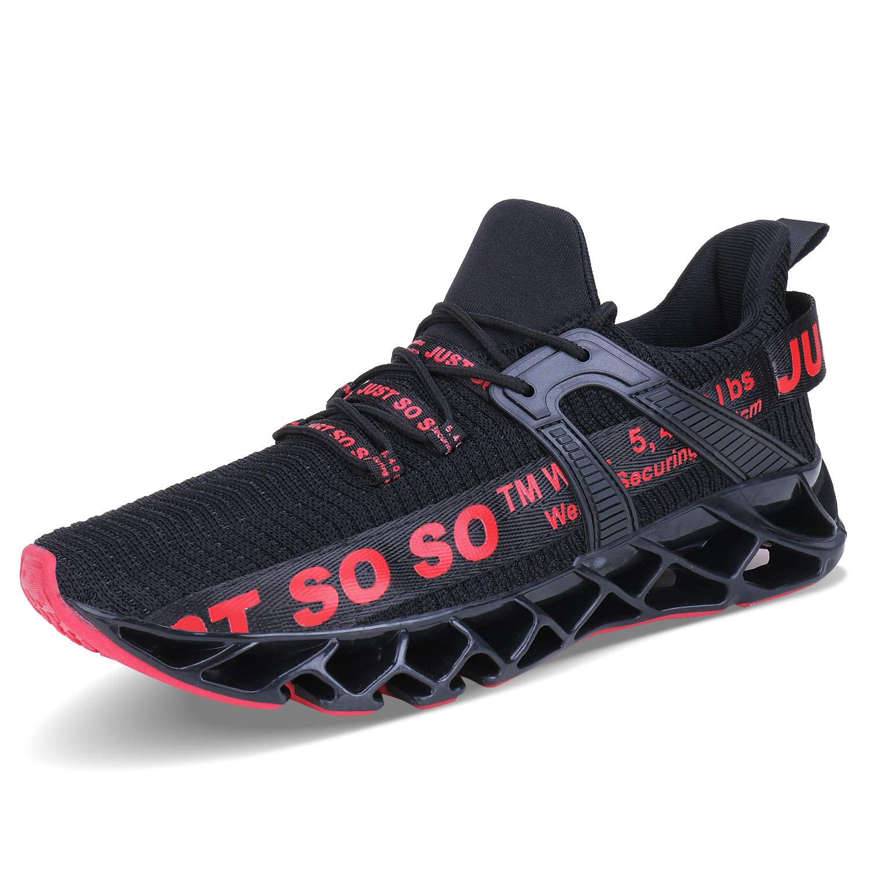 COKAFIL Mens Walking Shoes Running Athletic Fashion Tennis Blade Sneakers