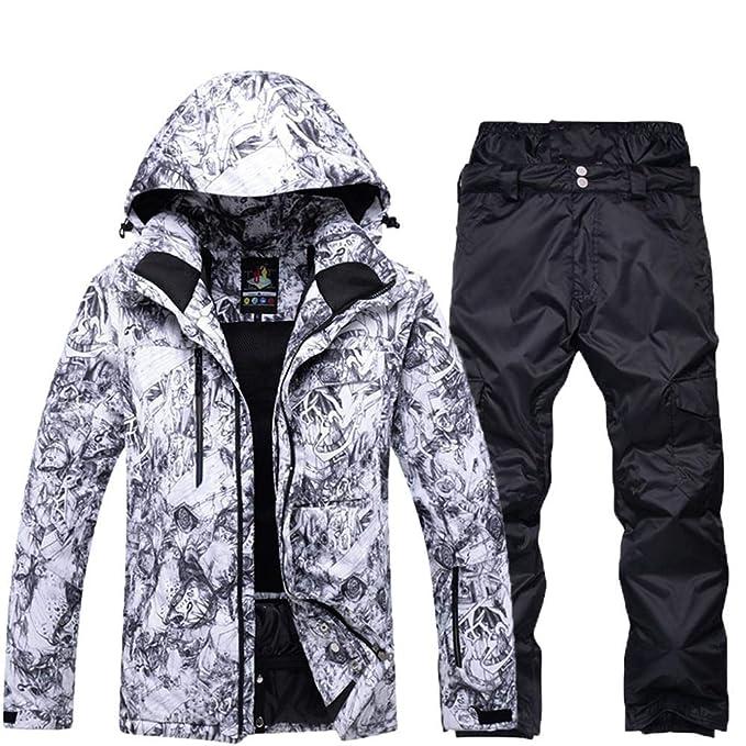 Amazon.com: SunFlower666 2018 - Chaqueta de esquí para ...