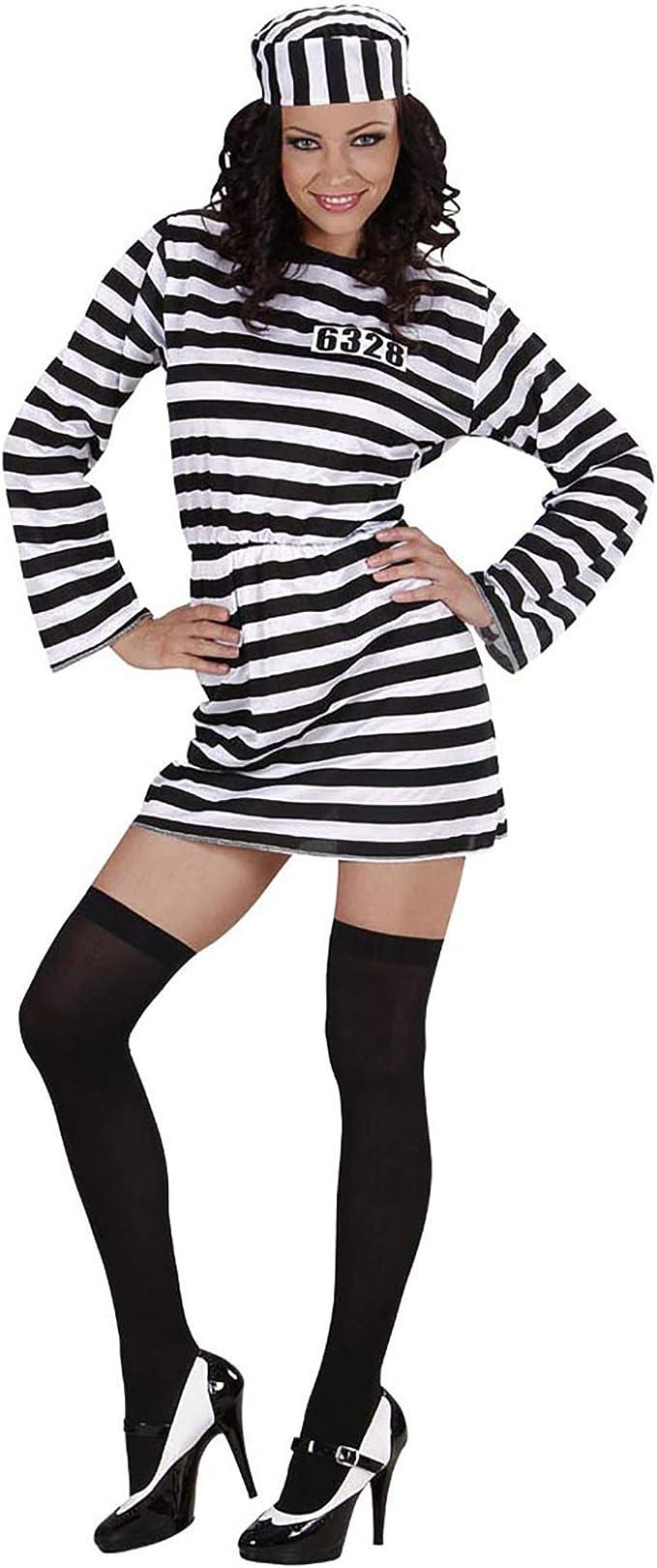 Widmann 34981 - Disfraz de presa Familia Addams Morticia para ...