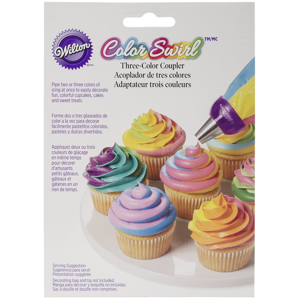 Wilton ColorSwirl 3 Color Coupler, 411-1992 by Wilton (Image #1)