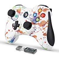 EasySMX Game Controller, 2.4G Wireless Gamepad, Dual Vibration, 8 uur speeltijd voor PS3/PC/Android, tablets, tv-box