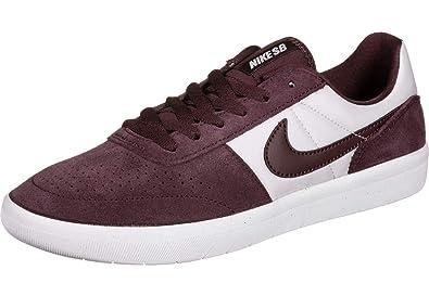 buy online 5c52f ac46e Nike Adults  Sb Team Classic Skateboarding Shoes Multicolour Burgundy  Crush White 601 5.5 UK