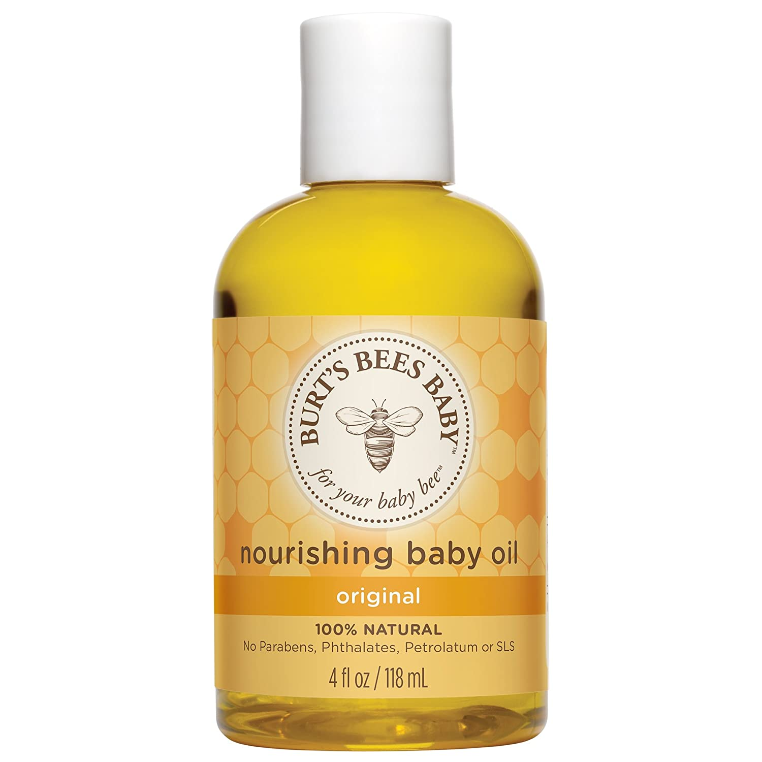 Burt's Bees Baby Bee Nourishing Baby Oil - 4 Fl Oz thomaswi