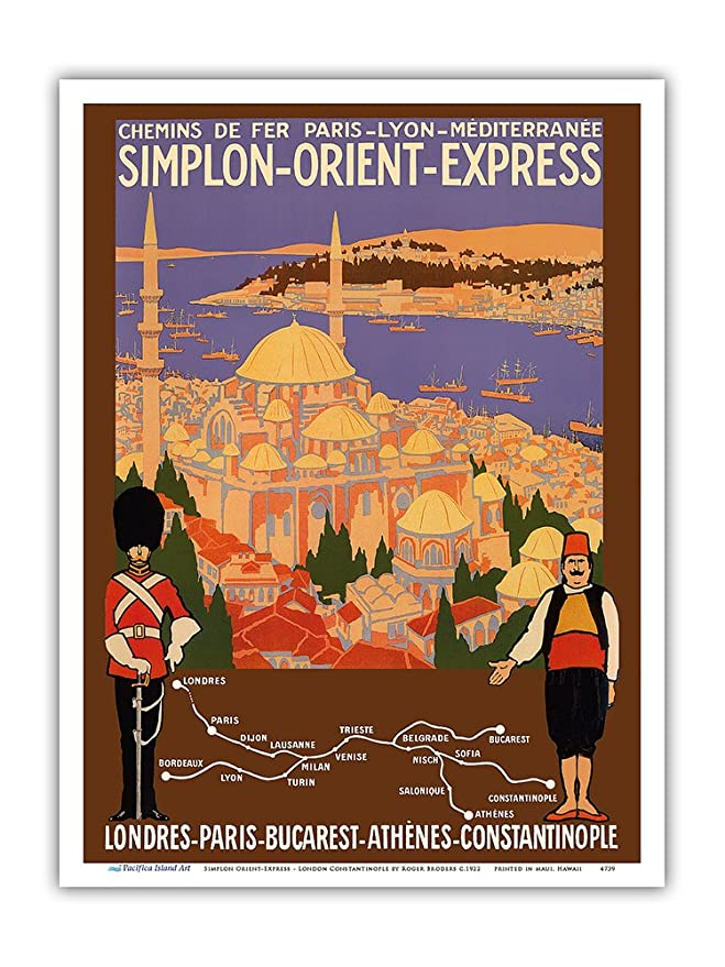 Pacifica Island Art Simplon Orient-Express-Londres a ...