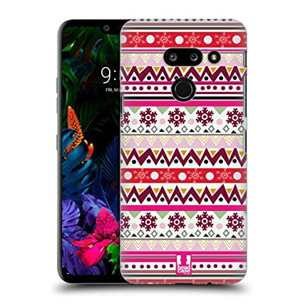 Amazon.com: Head Case Designs Aztec Hippie Xmas Hard Back ...