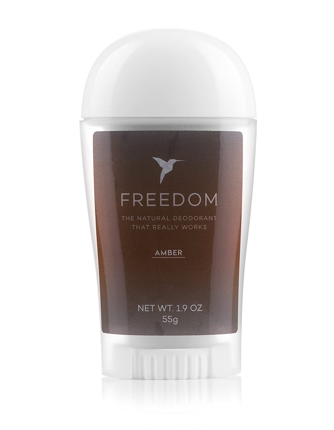 Freedom All-Natural, Aluminum Free Deodorant For Men and Women That Works All Day (Frankincense Peach) Colorado Quality Products