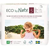 Naty by Nature Babycare Eco Pull On Pants, Size 5, 4 packs of 20 (80 pants)